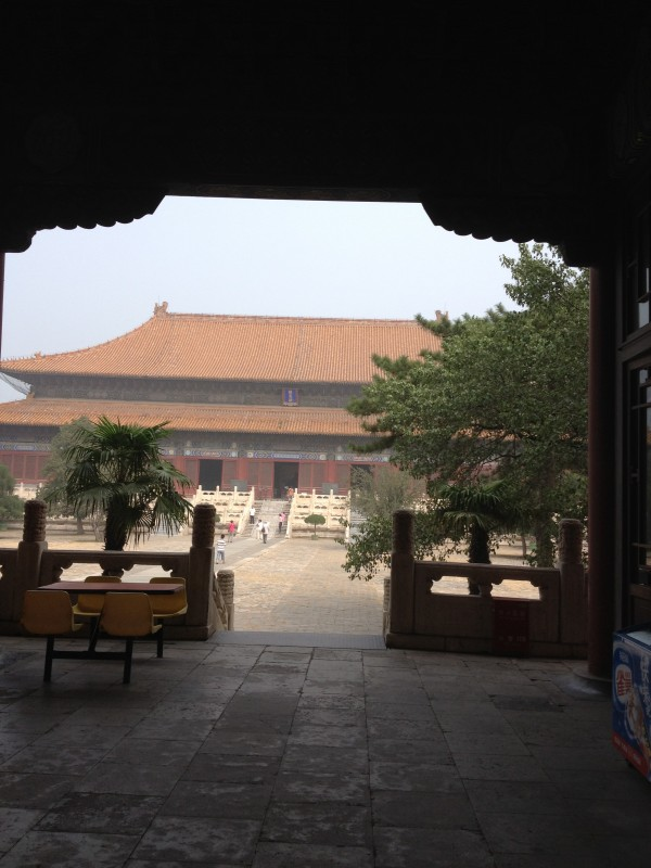 image of temple MIng Tombs