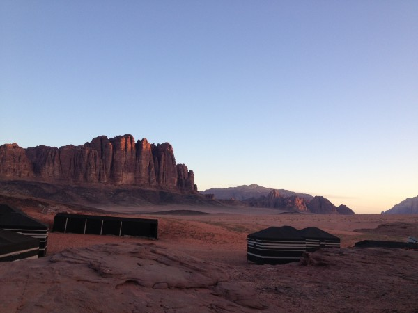 Valley of the Moon camp Wadi Rum